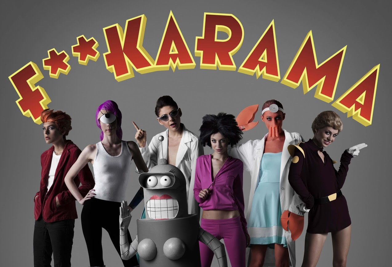 FUTURAMA Gets The WOODROCKET Adult Parody Treatment