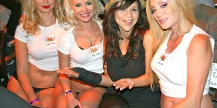 Movie Star ROSIE PEREZ Gets Advice From The RICK'S CABARET NEW YORK Girls
