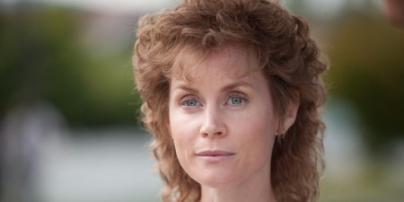 Michelle Blundell as Louise Nicholas in the new television drama Consent. Photo / Supplied