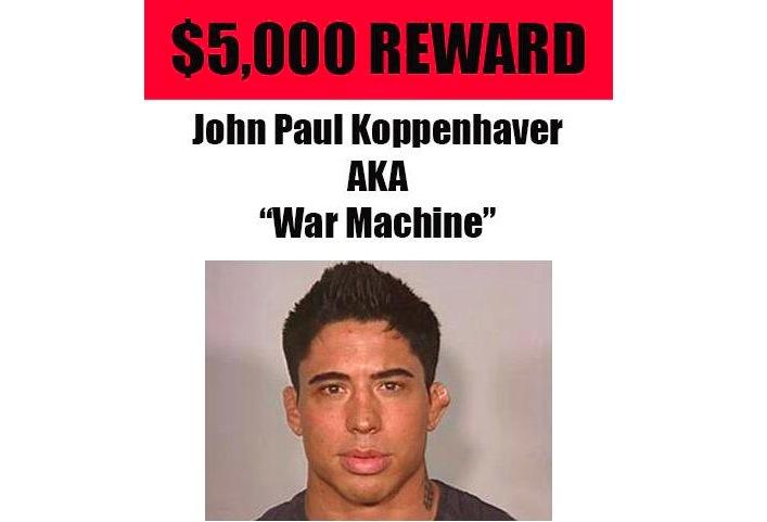 Fleshlight Offers $5,000 Reward For Information Leading To War Machine's Arrest