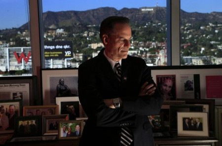 AHF dictator Michael Weinstein in his lair
