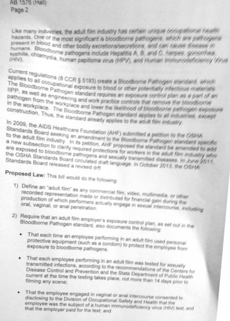 Senate Appropriations Committee Fiscal Summary of AB 1576 p 2