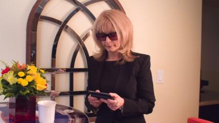 Nina Hartley as Hillary in 'Between The headlines'