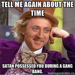 Lubben Wonka Meme