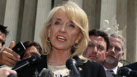 ACLU Sues Over Arizona 'Revenge Porn' Bill -- Arizona Gov. Jan Brewer (Mark Wilson / Getty Images / AFP)