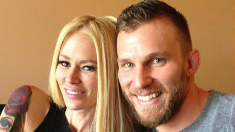 Jenna Jameson and her boyfriend of only three months, MMA coach John Wood., on Couples Therapy season 5
