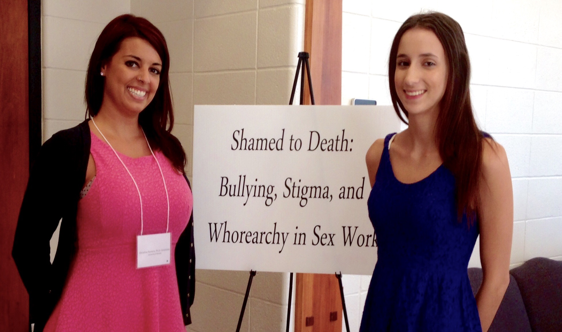 Belle Knox & Christina Parreira Present at Human Trafficking, Prostitution & Sex Work Conference in Toledo