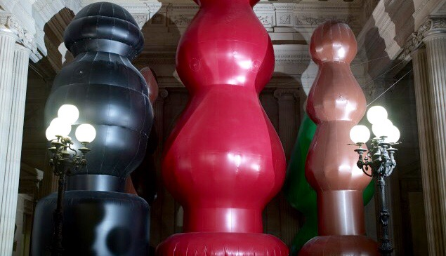 Paul McCarthy's Butt Plug Returns in Chocolate Form: A First-Hand Account From Paris