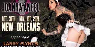 Come See Joanna Angel Live in New Orleans and Las Vegas