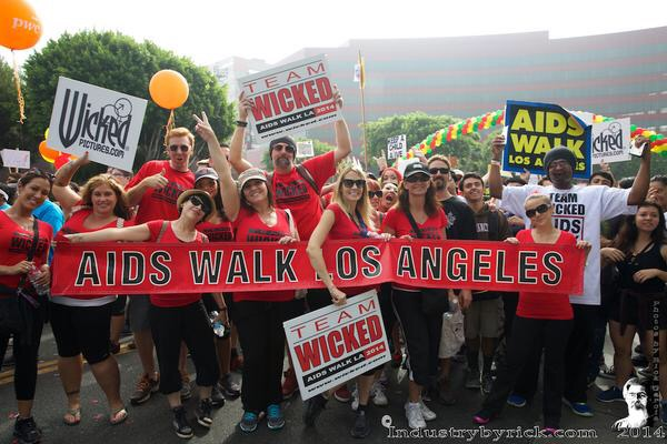 jessica drake & TEAM WICKED Raise Thousands for AIDS Walk LA Fundraising Goal