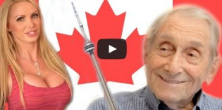 Nikki Benz Tries To Win Grandpa's Vote In 'All For Fun' Toronto Mayoral Race Video