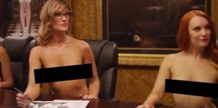 Spearmint Rhino Naked Boardroom Advert w/ Nikki Benz, Lola Foxx, Callie Calypso, Hope Howell
