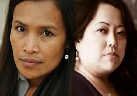 Somaly Mam and Chong Kim
