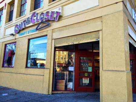 AHF Shutters SF Out of The Closet Store