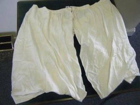 Queen Victoria's 'very large' 52-inch bloomers sold for £6,200
