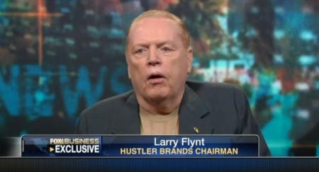 Larry Flynt speaks to Fox Business about Net Neutrality
