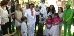 Man marries his second tree