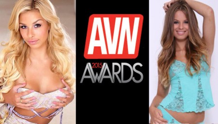 Carmen Caliente, Jillian Janson Named 2015 AVN Awards Trophy Girls