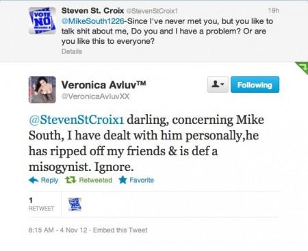 Veronica AvLuv tweet