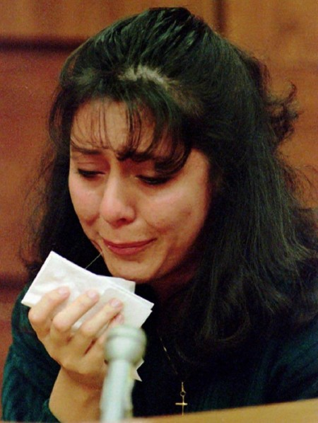Lorena Bobbitt used a carving knife to chop off her husband's penis in 1993.