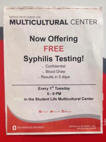 Syphilis outbreak persists in Columbus