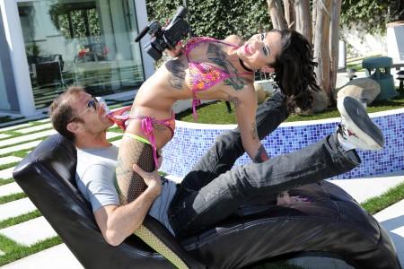 Siffredi with Bonnie Rotten in 'Rocco's Intimate Initiations'