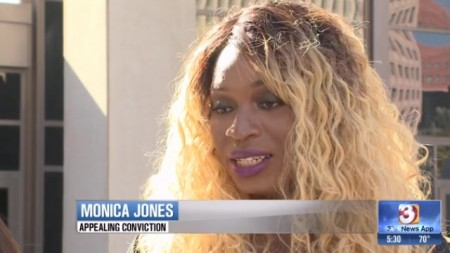 Monica Jones wants prostitution-related conviction overturned