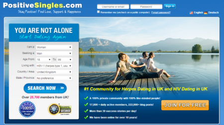 PositiveSingles, A Dating Site For People With STIs, Found Liable for $16.5