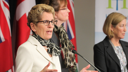 Ontario Premier Kathleen Wynne -- Feds knew prostitution bill was questionable from the start, says NDP