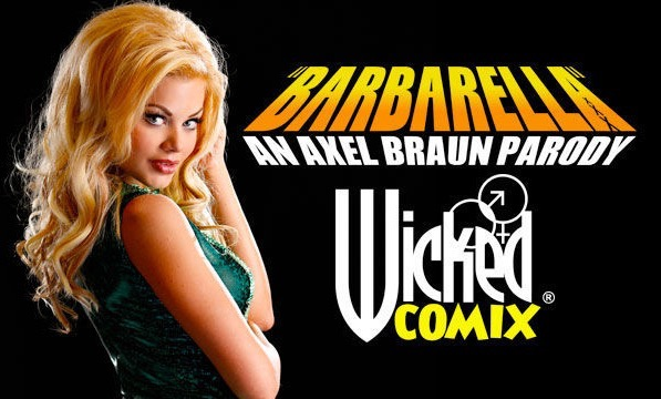 PHOTOS: Axel Braun Wraps 'Barbarella XXX', the Special Effects-laden Debut of Wicked Comix