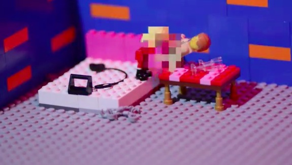 Canada's new prostitution law explained with Lego