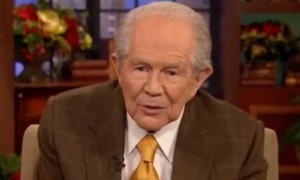 'Homosexuals will die out because they can't reproduce,' claims Pat Robertson