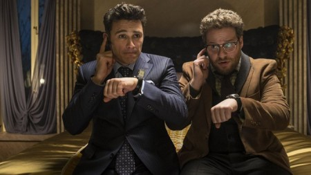 James Franco and Seth Rogen in Sony's withdrawn 'The Interview'