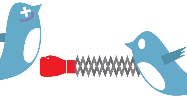 twitter fighting