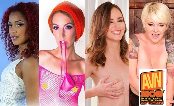 Daisy Ducati, Mona Wales, Jay Taylor & Missy Monroe 2015 AVN Signing Schedules UPDATED