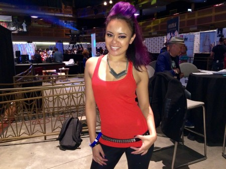 Annie Cruz at the AVN Adult Entertainment Expo, January 21, 2015. Photo by TRPWL.com