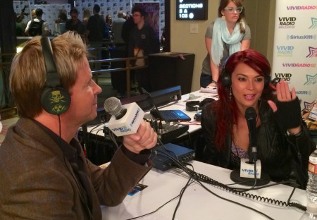 Will Ryder and Tera Patrick at the AVN Adult Entertainment Expo, January 21, 2015. Photo by TRPWL.com