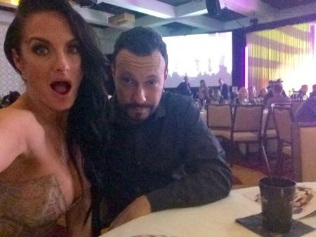 XBiz Awards 2015 PHOTOS by TRPWL.com: Alektra Blue and Michael Whiteacre