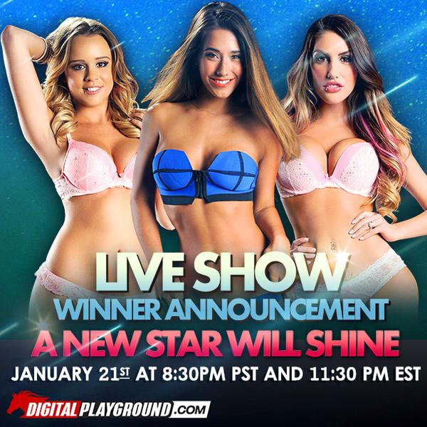 Alexis Adams, August Ames and Eva Lovia Named Finalists in DP Star Competition. Winner to be announced January 21, 2015