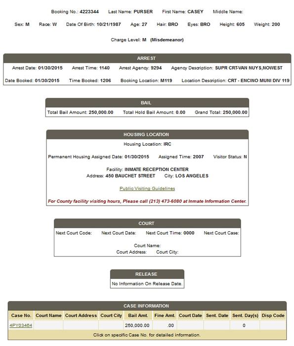 Clover booking sheet 1-30-15 1