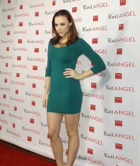 AVN Expo 2015 Photos Day 3: Chanel Preston at the Evil Angel party