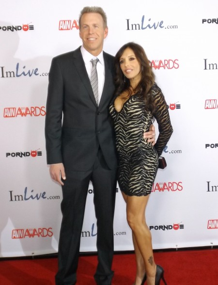AVN Awards 2015 Red Carpet PHOTOS (Part 6): Mark Wood and Francesca Le Photo by Max Murder for TRPWL.com