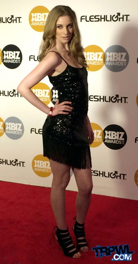 Ela Darling at the 2015 XBiz Awards in Los Angeles, Calif. Photo by Michael Whiteacre for TRPWL.com