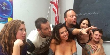 Axel Braun directing 'Squirt Class'