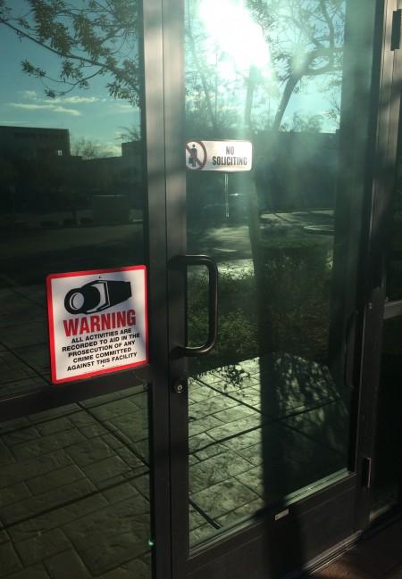 Henderson - door