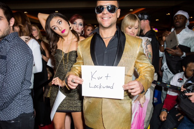 Maya Grand and Kurt Lockwood at the 2015 AVN Awards in Las Vegas. Photo: Roger Kisby / BuzzFeed