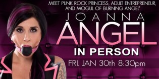 HUSTLER HOLLYWOOD to Host Launch Event for The Stockroom's 'Joanna Angel Line'