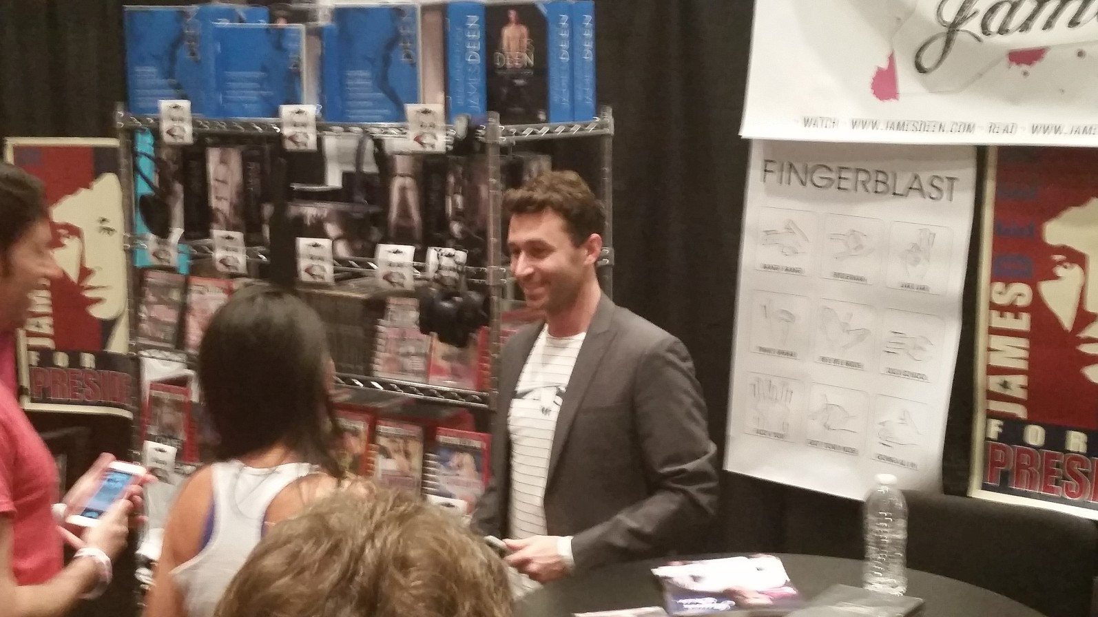 Cal/OSHA Fines James Deen for Violating Condom and Safety Laws