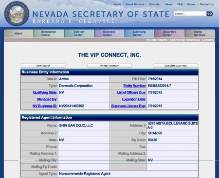 NV sec of state
