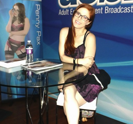 Penny Pax at the 2015 AVN Adult Entertainment Expo